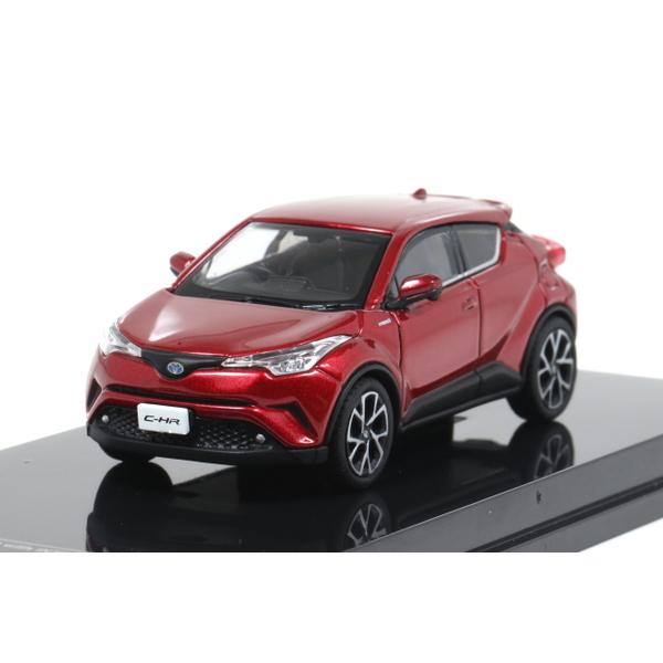 【オーバーステア】 1/64 Toyota CH-R 2017 センシュアルレッドマイカ
