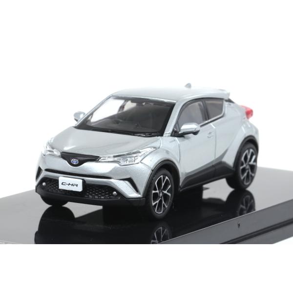 【オーバーステア】 1/64 Toyota CH-R 2017 メタルストリームメタリック