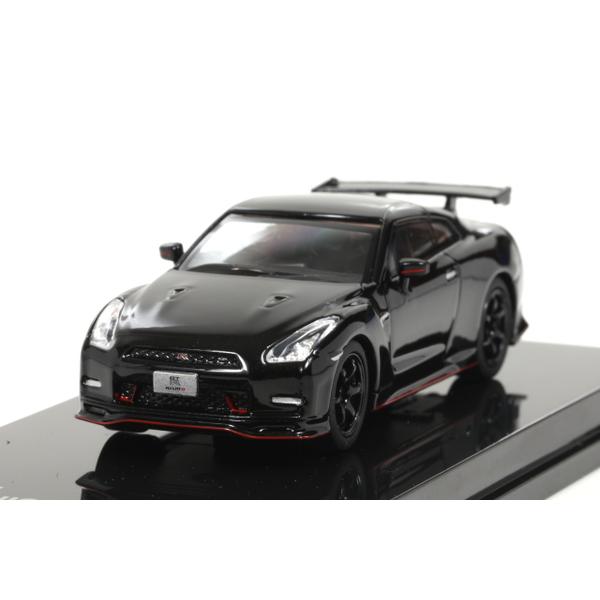 【オーバーステア】 1/64 日産 GT-R ニスモ 2014 (メテオフレークブラックパール)