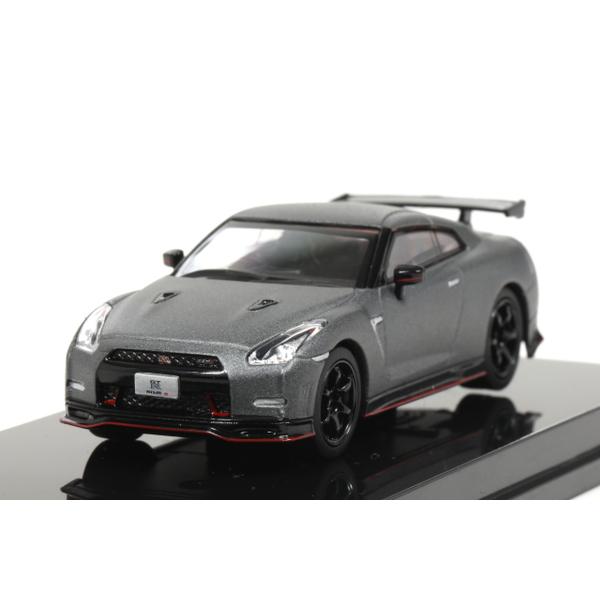 【オーバーステア】 1/64 日産 GT-R ニスモ 2014 (ダークマットグレー)