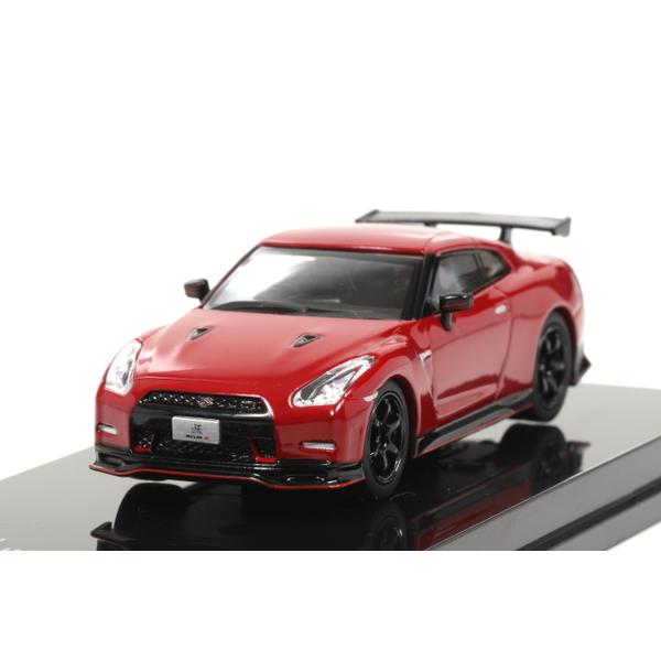 【オーバーステア】 1/64 日産 GT-R ニスモ 2014 (バイブラントレッド)