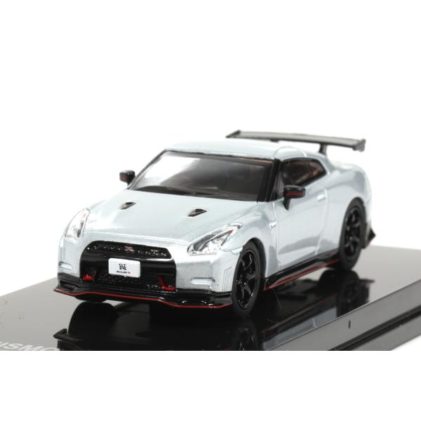 【オーバーステア】 1/64 日産 GT-R ニスモ 2014 (アルティメイトメタルシルバー)