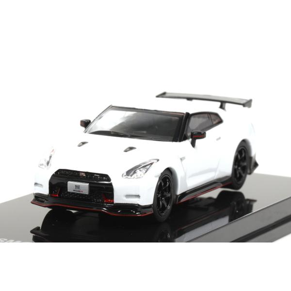 【オーバーステア】 1/64 日産 GT-R ニスモ 2014 (ブリリアントホワイトパール)
