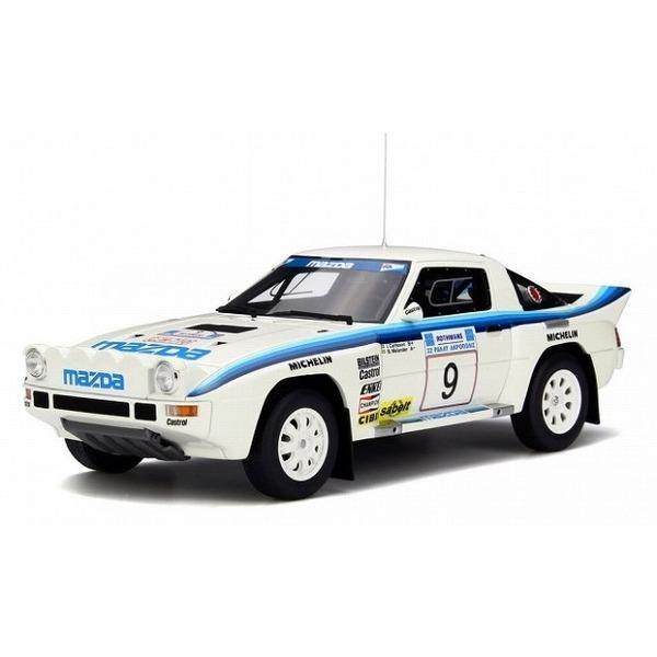 【OTTO】 1/18 マツダ RX-7 グループB Acropolis 1985 (ホワイト/ブルー) 世界限定:1500個