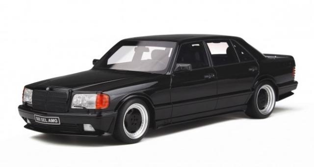 OTTO 1/18 メルセデス ベンツ 560 6.0 SEL AMG (W126)  (ブラック) 世界限定 2,000個
