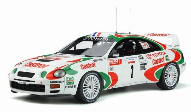 OTTO 1/18 トヨタ セリカ GT Four ST205 #1 ツール・ド・コルス 1995 (カストロール) 世界限定 3,000個
