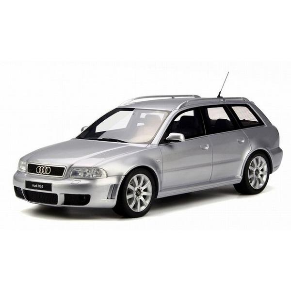 【OTTO】 1/18 アウディ RS4 (B5)(シルバー)世界限定:1,500個
