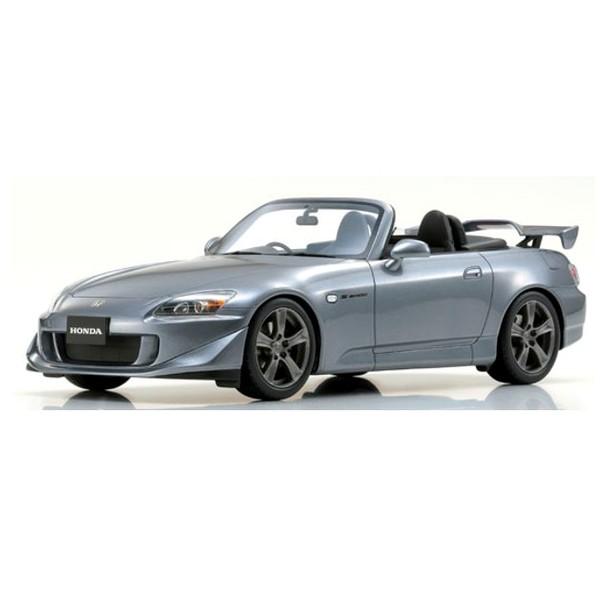 【OTTO】 1/18 ホンダ S2000 タイプS (グレーシルバー)世界限定300個 ※京商特注