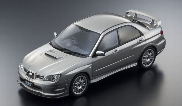 OTTO 1/18 STI S204 (シルバー) 世界限定 300個 OttO Mobile Kyosho Exclusive