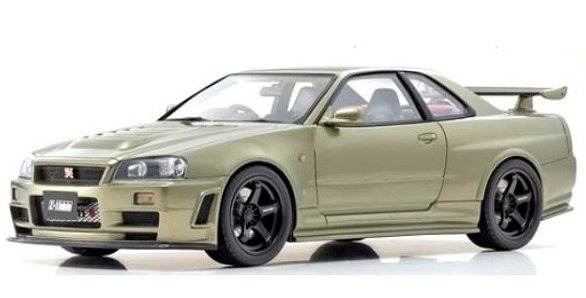OTTO 1/18 ニスモ GT-R Z-tune (グリーン) 世界限定 300個 Kyosho Exclusive