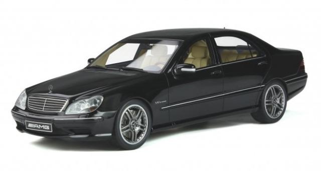 OTTO 1/18 メルセデス ベンツ W220 S65 AMG (ブラック)世界限定 2,000個