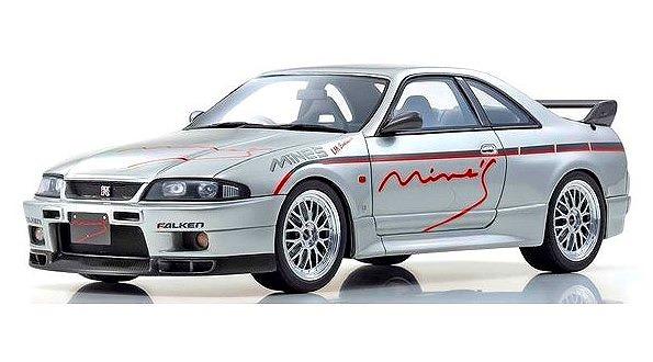 OTTO 1/18 日産 スカイライン GT-R (BCNR33) マインズ (シルバー) 世界限定 300個 Kyosho Exclusive