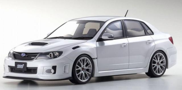 OTTO 1/18 SUBARU IMPREZA WRX STI S206 (ホワイト) 世界限定 300個 Kyosho Exclusive