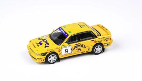 """PARA64 1/64 三菱 ギャラン VR-4 """"キャメル"""" 1995 ラリー エルコルテ イングレス #9 A.ポンセ/S.G.Berriel"""