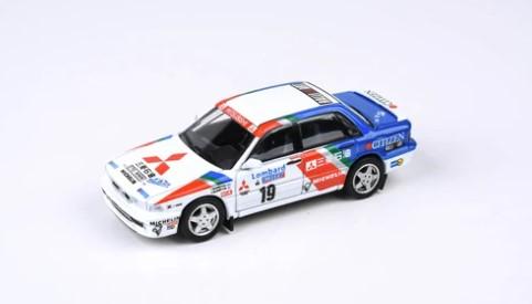 PARA64 1/64 三菱 ギャラン VR-4 1989 ロンバード RAC ラリー ウィナー #19 P.アイリッカラ/R.McNamee