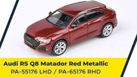 PARA64 1/64 Audi RS Q8 Matador Red LHD