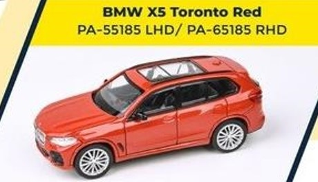 PARA64 1/64 BMW X5 Toronto Red LHD