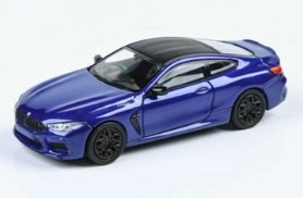 PARA64 1/64 BMW M8 クーペ ブルー(左ハンドル)