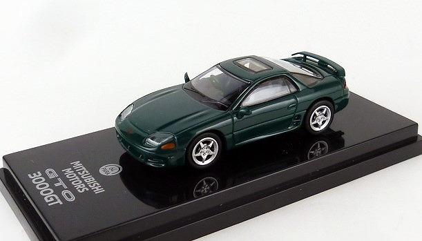 PARA64 1/64 三菱 GTO 3000GT グリーンマイカ (右ハンドル)