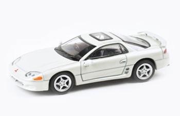 PARA64 1/64 Mitsubishi 3000GT GTO Glacier White Pearl RHD