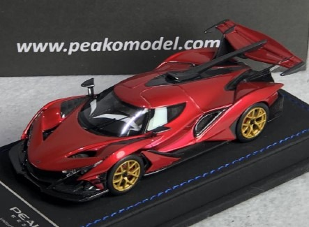 <予約 2020/10月下旬発売予定> PEAKO 1/43 アポロ Intensa Emozione (Apollo IE) F1 Red