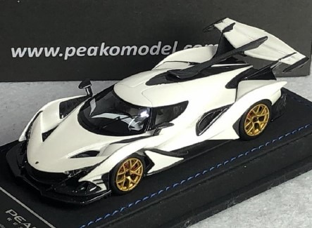 <予約 2020/10月下旬発売予定> PEAKO 1/43 アポロ Intensa Emozione (Apollo IE) Pearl White