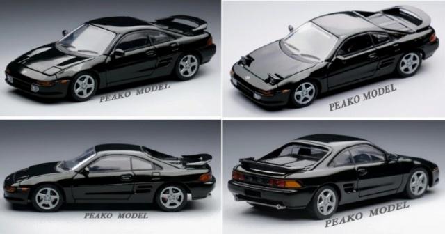 PEAKO 1/64 トヨタ MR2 SW20 1996 Rev 4 ブラック