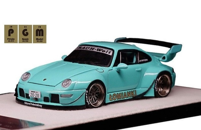 <予約> [PGM] 1/64 RWB 993 Tiffany Blue ※世界限定999台