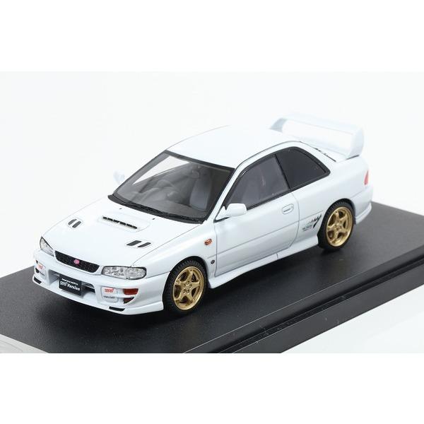 【MARK43】 1/43 スバル インプレッサ WRX タイプR STi バージョンVI 1999 GC8 ピュアホワイト