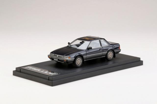 <予約> [MARK43] 1/43 ホンダプレリュード XX (AB1) 前期型 純正オプションホイール装着車 (カスタムバージョン) ミッドナイトブルー