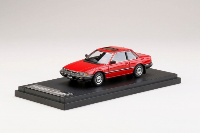 MARK43 1/43 Honda PRELUDE XX AB1 1984 Domminican Red
