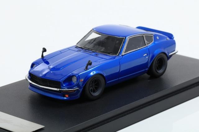 <予約> 【MARK43】 1/43 ニッサンフェアレディZ (S30)カスタムバージョン メタリックブルー ※宮沢模型流通限定