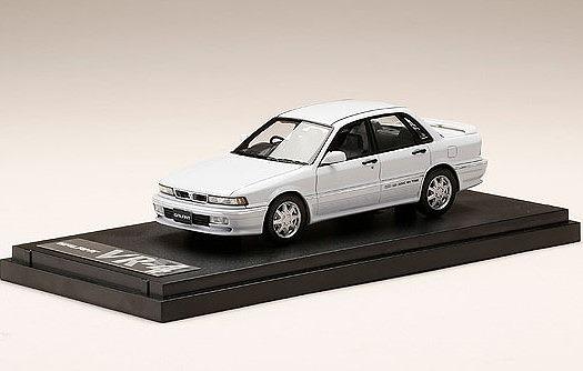 MARK43 1/43 三菱 ギャラン VR-4 (E39A) 1990 ソフィアホワイト