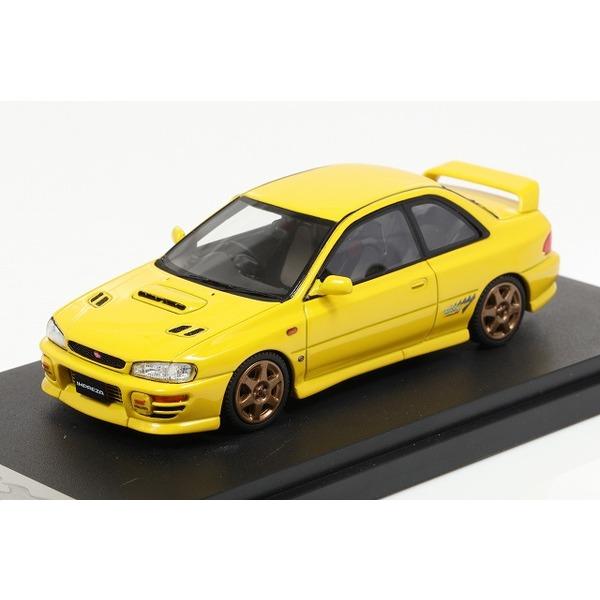【MARK43】 1/43 スバル インプレッサWRX タイプR Sti Ver.1997(GC8) スポーツ ホイール チェイスイエロー