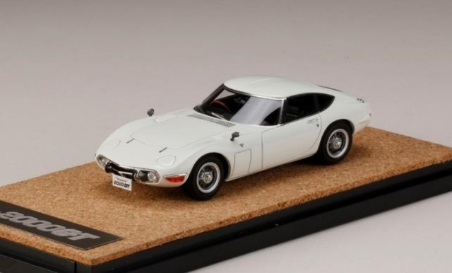 MARK43 1/43 TOYOTA 2000GT (MF10) LATE VERSION WHITE