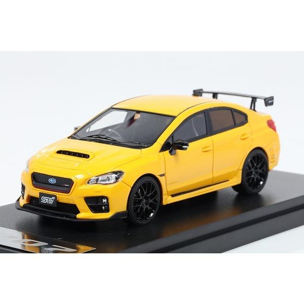 【MARK43】 1/43 スバル WRX STI S207 NBR チャレンジ パッケージ  イエロー エディション サンライズイエロー