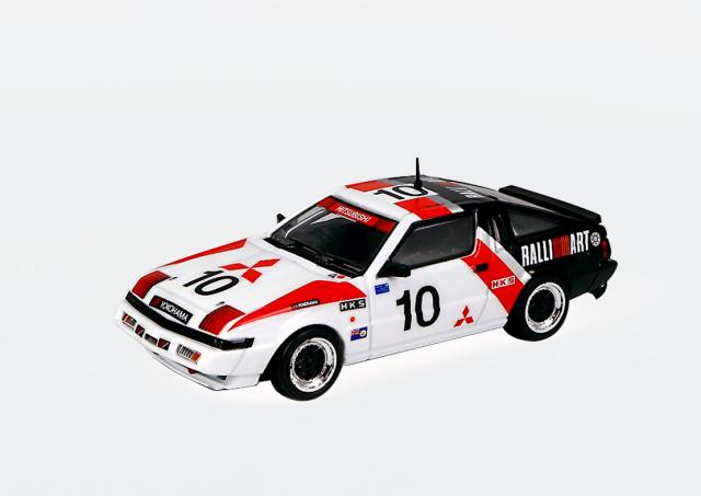 POP RACE 1/64 Mitsubishi Starion 1985 Guia Race Starion (A183A) #10 Michael Lieu
