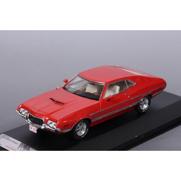 【PremiumX】 1/43 フォード グラントリノ 1972 (レッド)