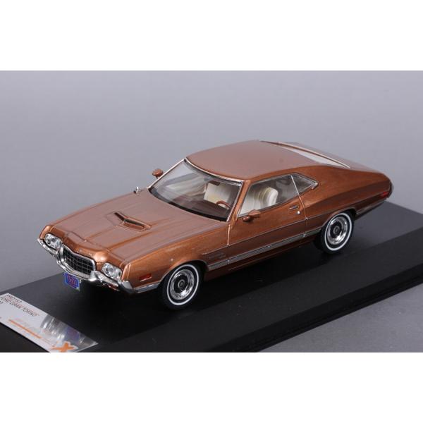 【PremiumX】 1/43 フォード グラントリノ 1972 (ゴールド)