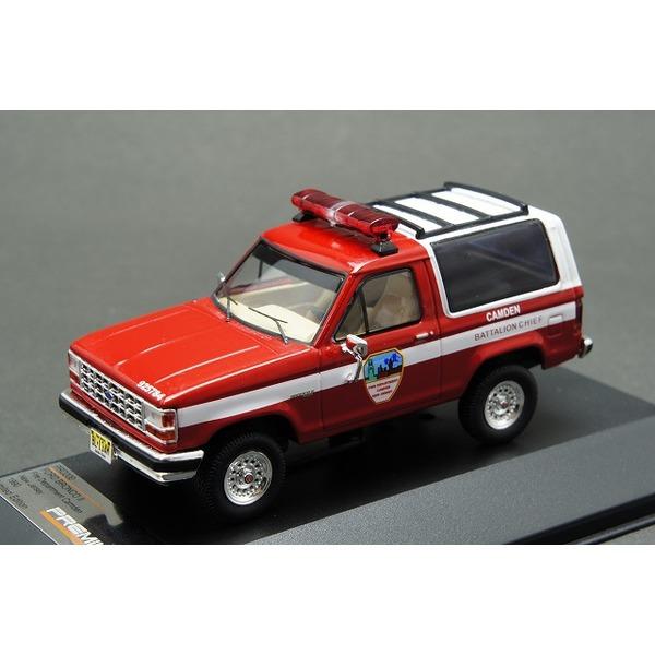 1/43 フォード ブロンコ II カムデン 消防 1990