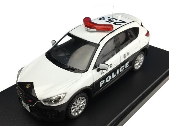 [PremiumX] 1/43 Mazda CX-5 Japanese Police 2013 広島県警察