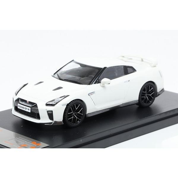 【プレミアムX】 1/43 日産 GT-R 2017(ホワイト)