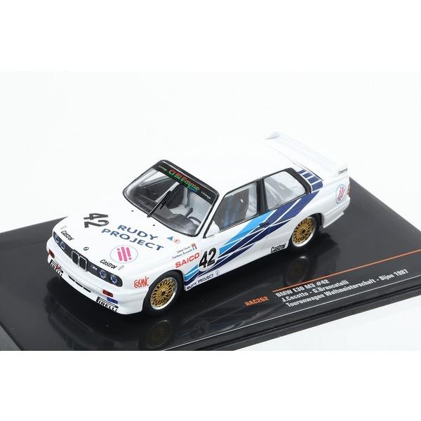 【ixo】 1/43 BMW E30 M3 No,42 Tourenwagen Weltmeisterschaft Dijon 1987