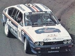 ixo 1/43 アルファロメオ GTV6 1986 ツールドコルス ラリー 3位 #14 Y.ルーベ/J-M.Andrie