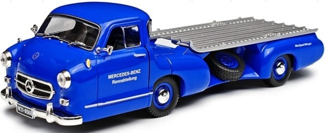 ixo 1/43 メルセデスベンツ レーシングカートランスポーター 1955  BLAUES WUNDER