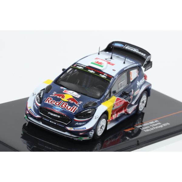 【ixo】 1/43 フォード フィエスタ WRC 2018年ラリー・ポルトガル #2 E.Evans - D.Barrit