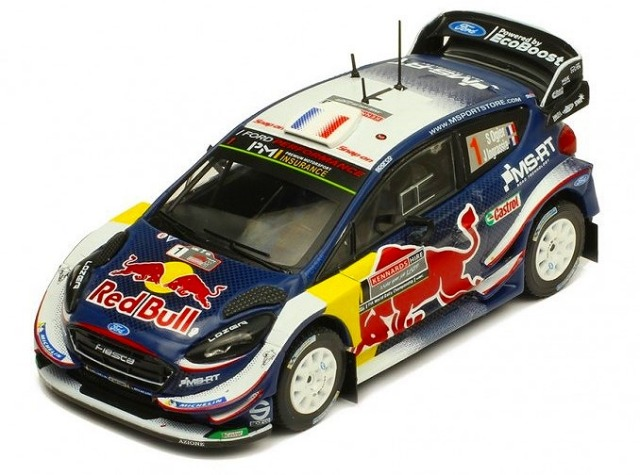 ixo 1/43 FORD Fiesta WRC #1 S. Ogier-J. Ingrassia Rally Australia 2018 World Champion