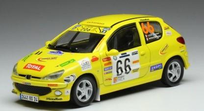 <予約> [ixo] 1/43 プジョー 206 XS 2006年Rallye Terre de provence #66 S. Ogier/J. Ingrassia