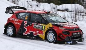 <予約> [ixo] 1/43 シトロエン C3 WRC 2019年ラリー・スウェーデン #4 E.Lappi/J.Ferm