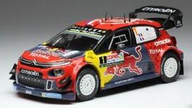 <予約> [ixo] 1/43 シトロエン C3 WRC 2019年ラリー・チリ #1 S.Ogier/D.Ingrassia